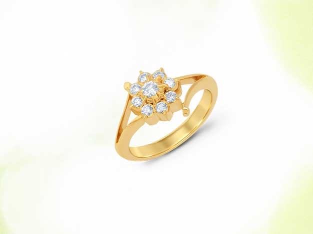 kiran jewels, kiran jewels jewellery, kiranjewels jewellery, ira, ira jewellery, ira ring design, ira indian jewellery, ring design, motif ring, gold flower ring, traditional jewelley manufacturers mumbai, gold jewellery manufacturers mumbai, brij design studio